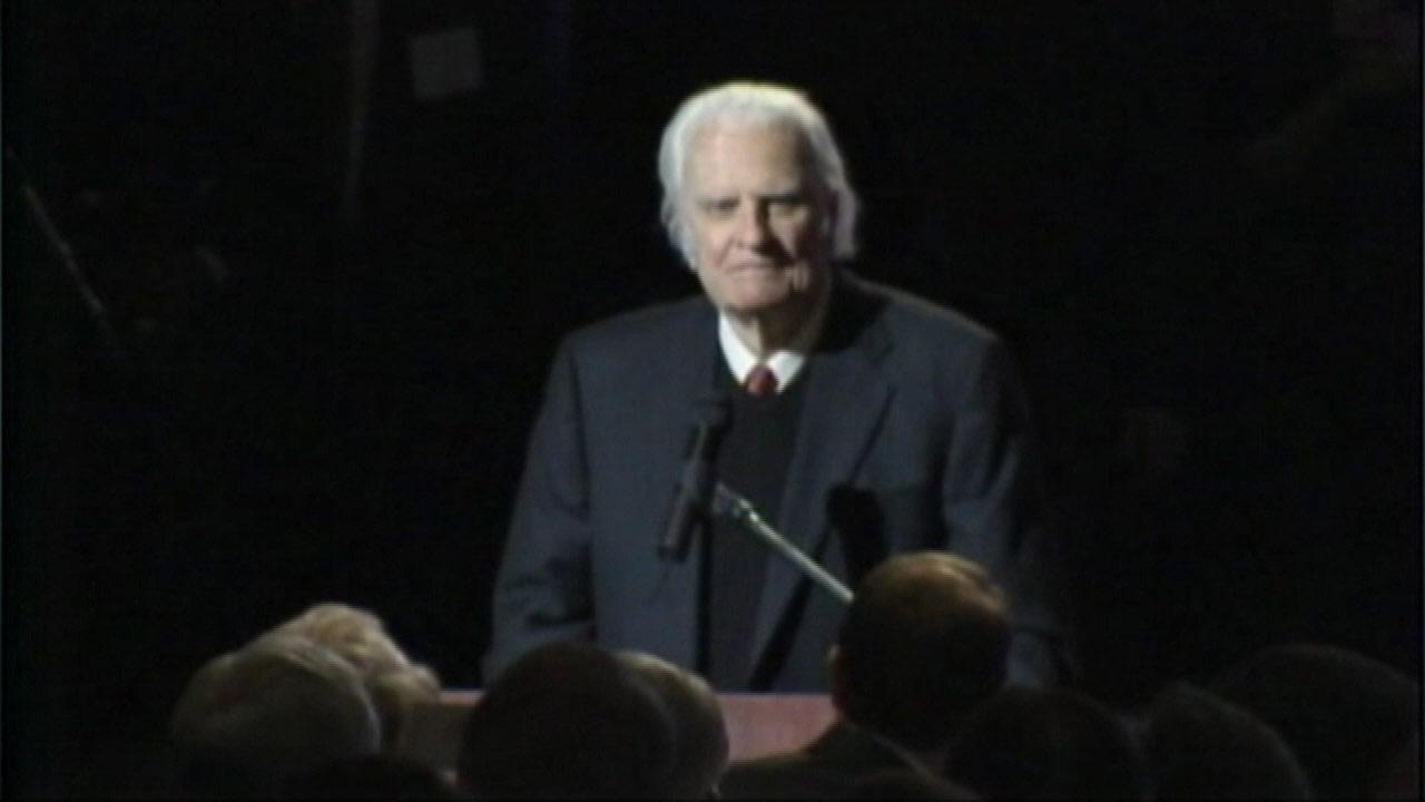 Reverend Billy Graham is in a North Carolina hospital undergoing tests, but a spokesperson emphasizes this is a precautionary measure.