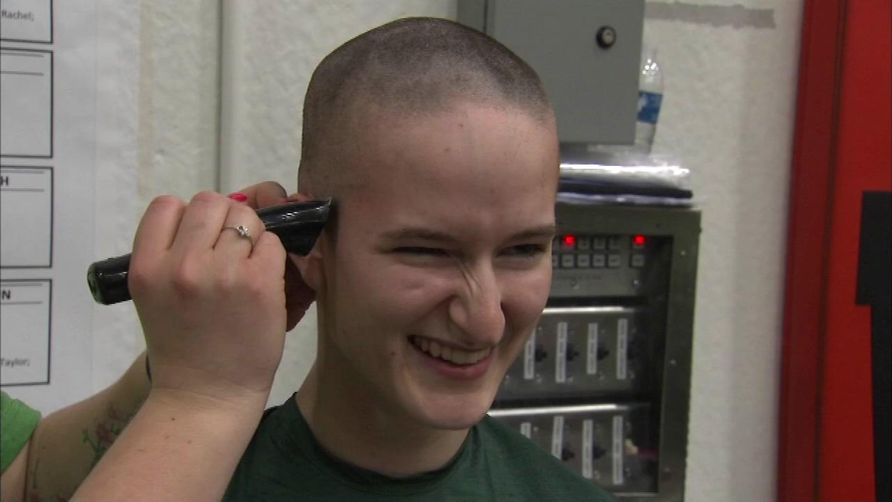 Heads shaved at St. Baldrick's event in McHenry