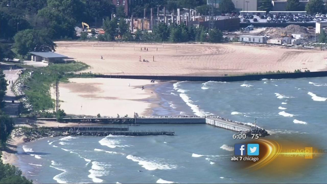 Swim bans in effect for some Chicago beaches