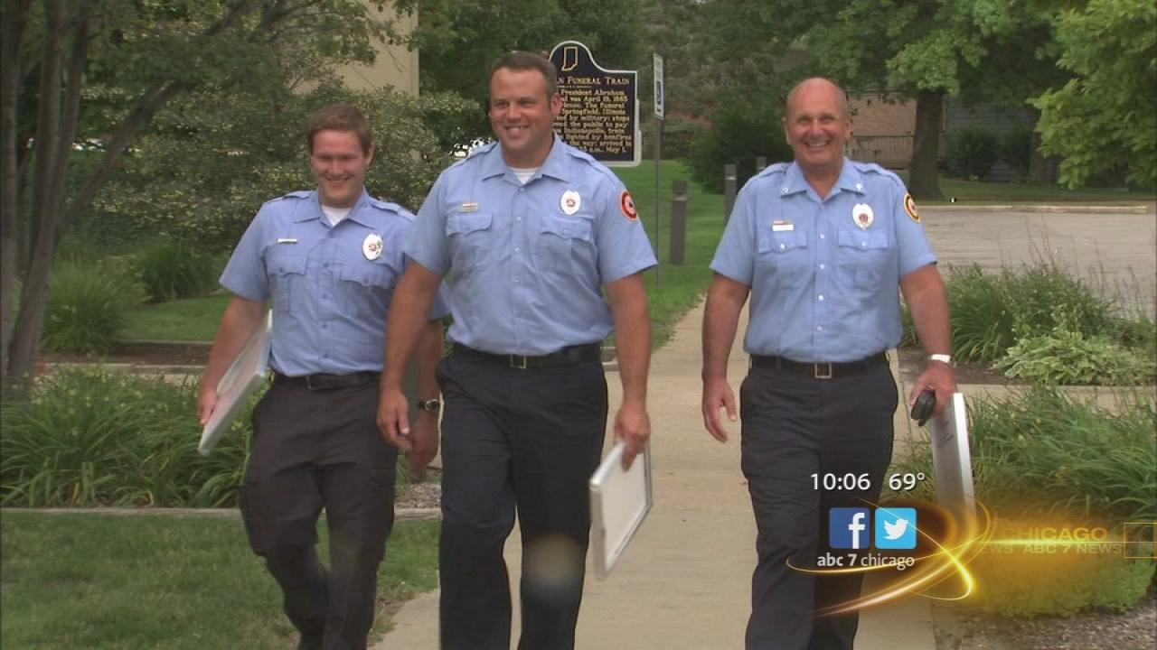 First responders honored for dunes rescue