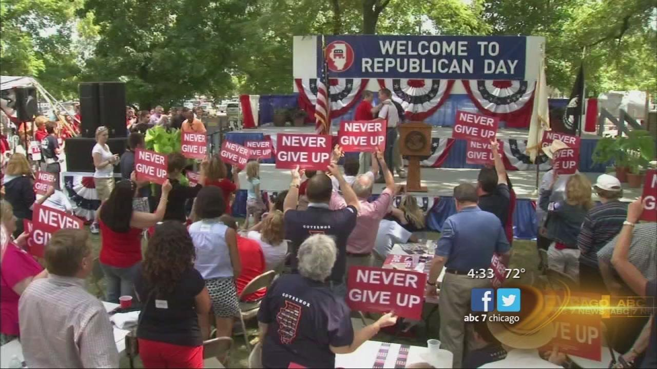 Kirk leads GOP unity at state fair