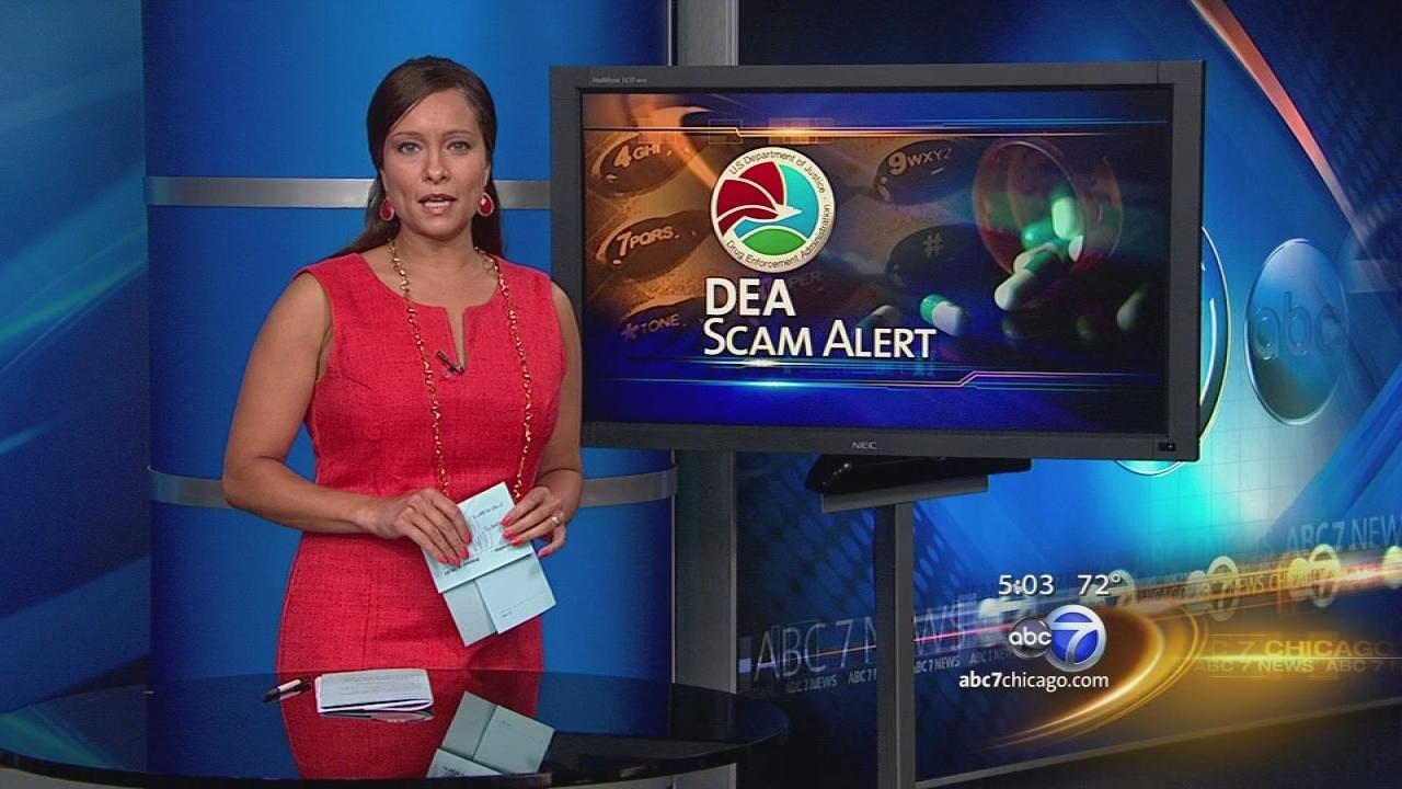 DEA warns of scammers out get money, information