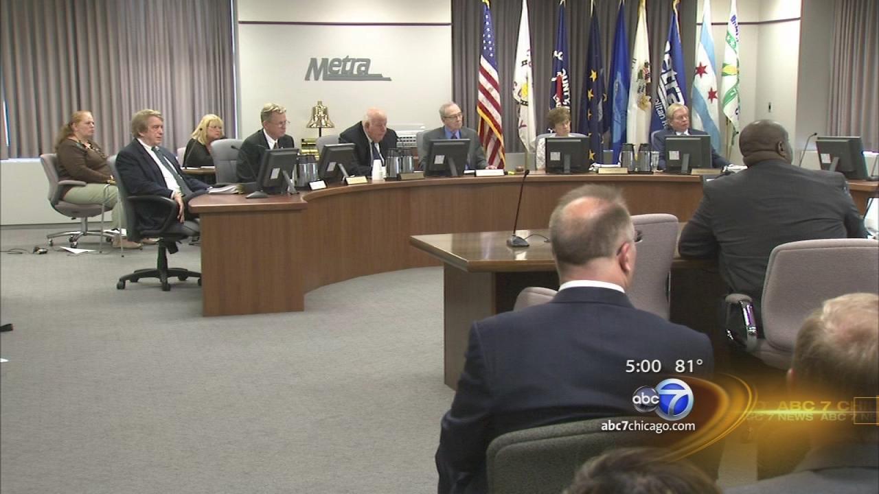 Metra board meeting after 5th member resigns
