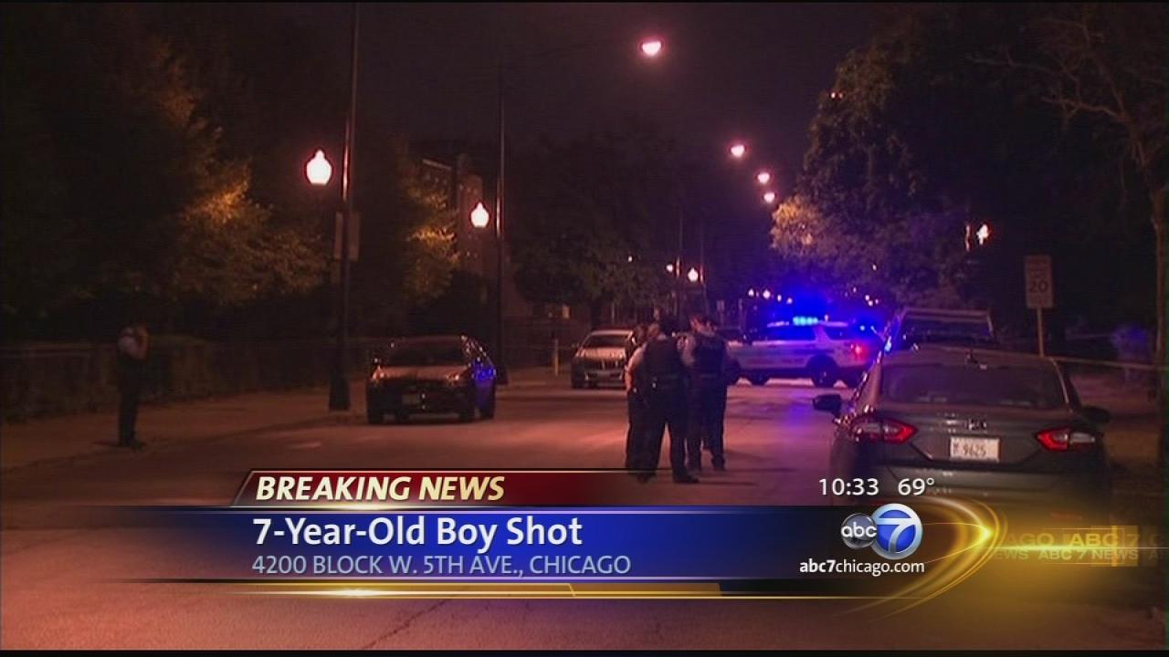 7-year-old boy shot on West Side