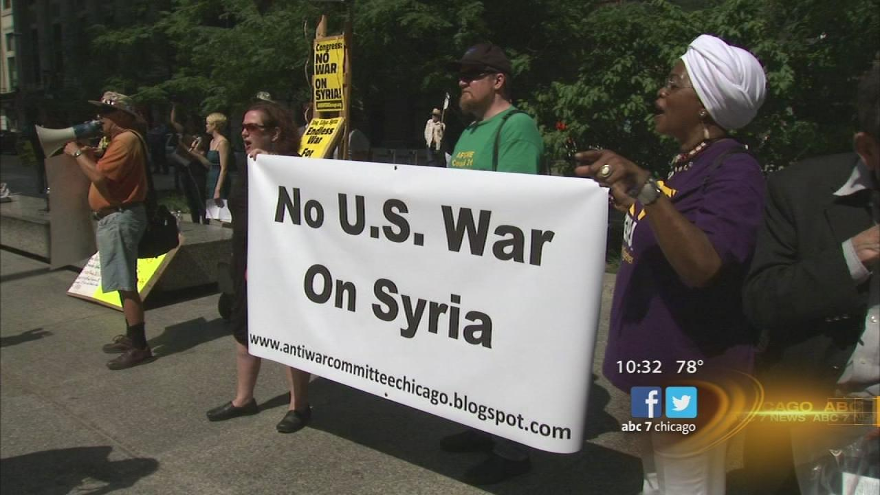 Syria strike resistance as U.S. tries to rally support