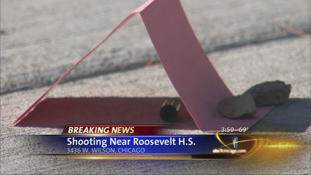 Student, 15, shot near Roosevelt high