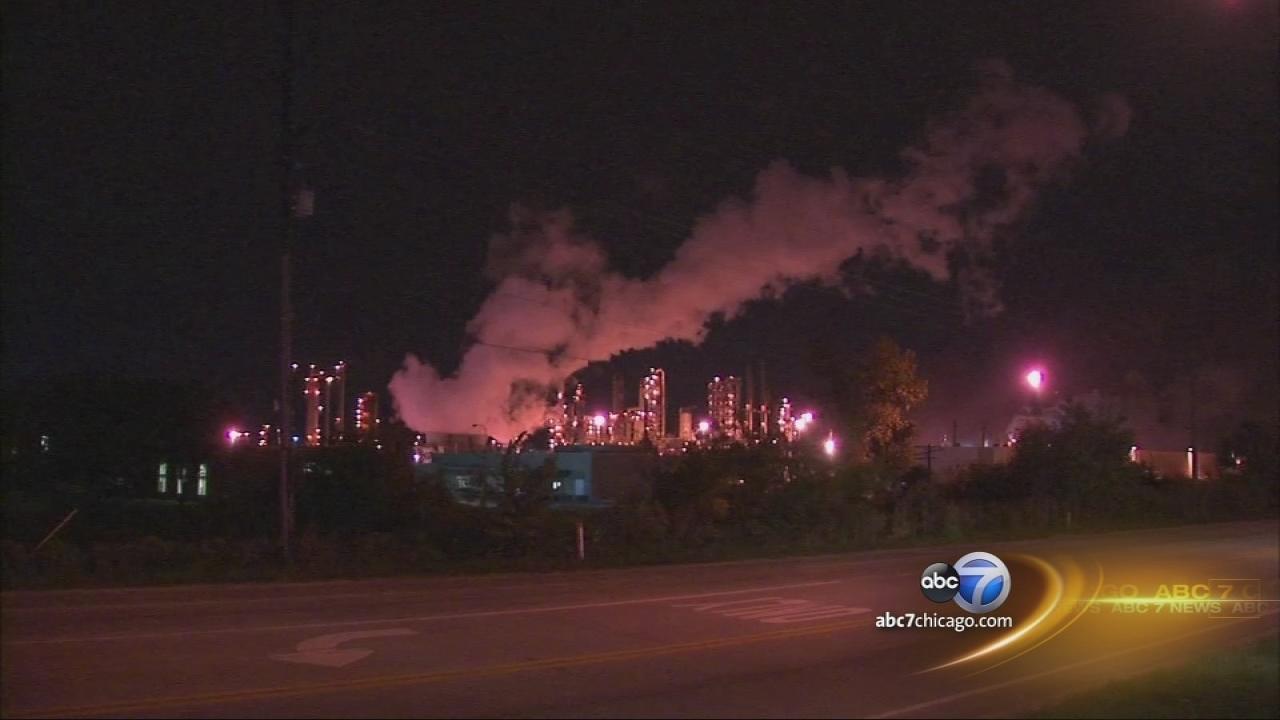 Experts: Air OK after CITGO refinery fire