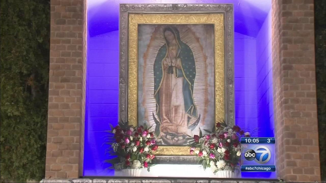 Thousands flock to Our Lady of Guadalupe shrine