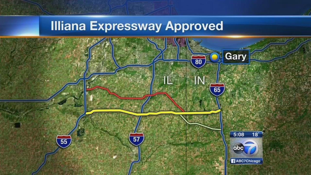 NW Ind. commission OKs proposed Illiana Expy.