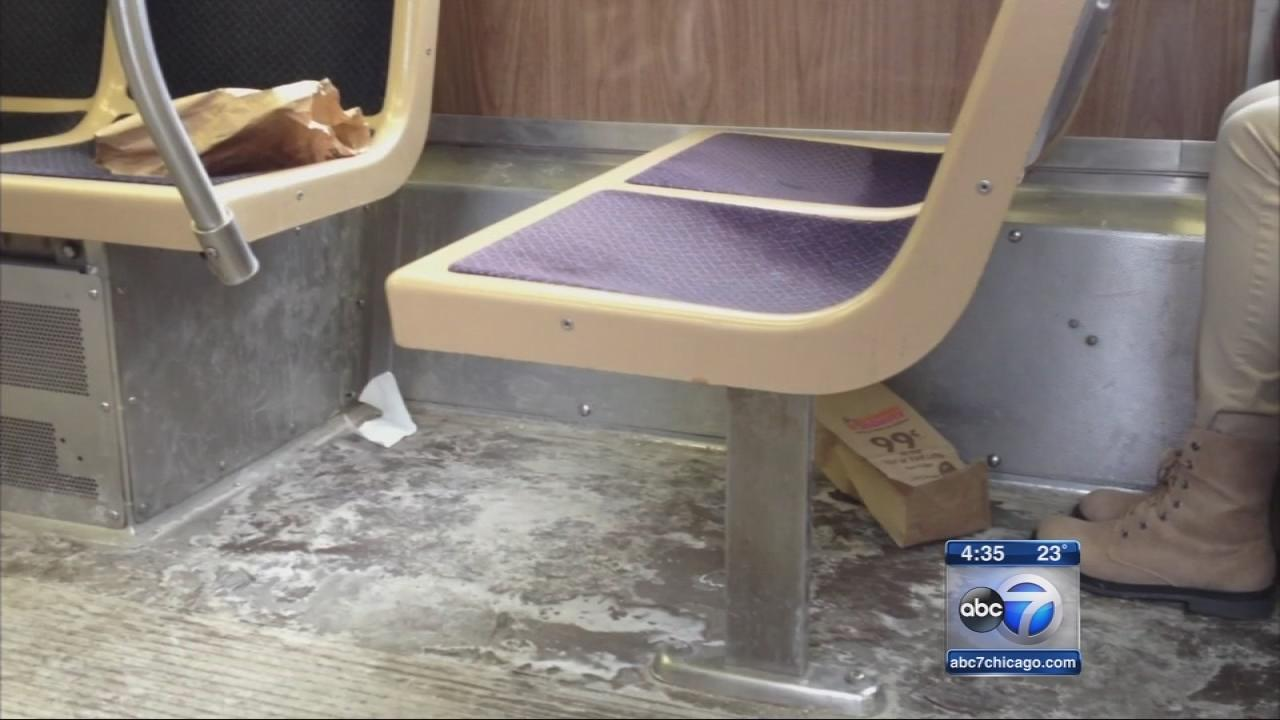 CTA workers disciplined for failing to clean dirty trains