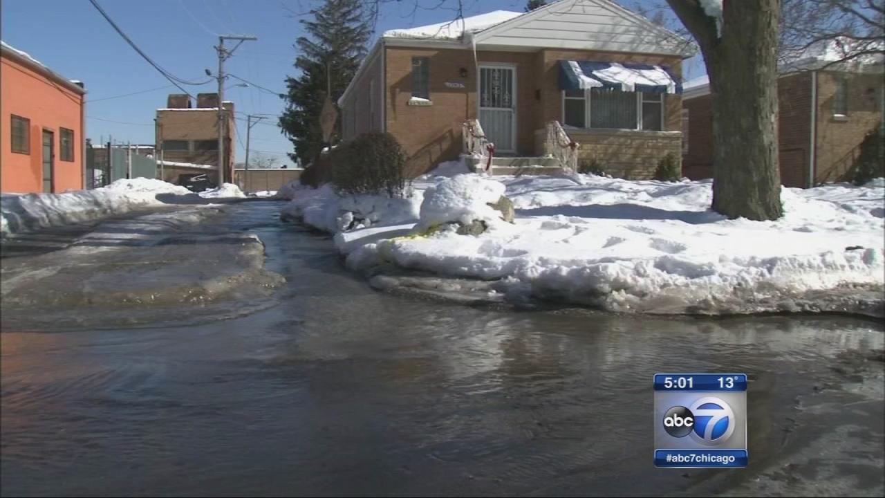 Series of water main breaks in Harvey