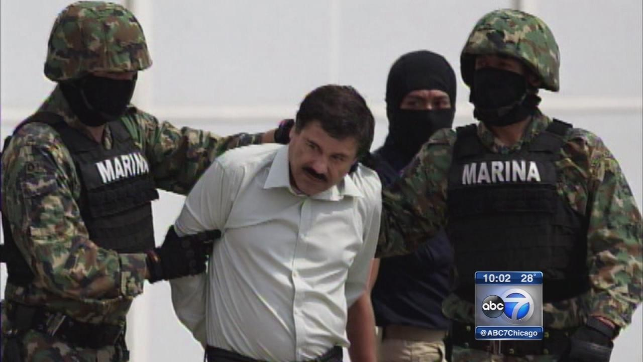 Drug lord Joaquin El Chapo Guzman arrested