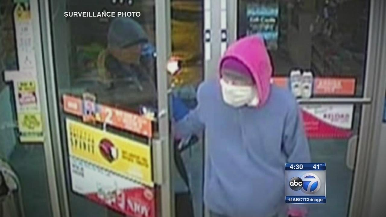 Exclusive: Surveillance images in Lincoln Square robbery