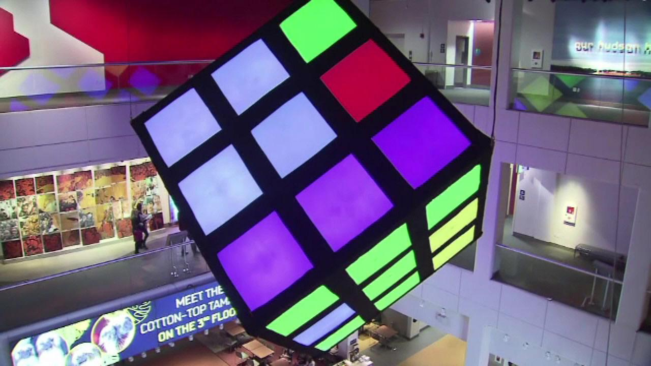 In honor of the 40th anniversary of the Rubiks Cube, the Liberty Science Center in New Jersey has an entire exhibit dedicated to it.
