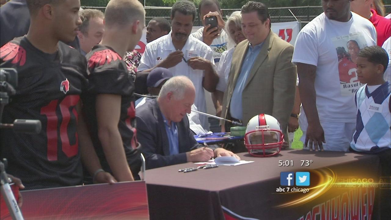 Student athlete insurance law to be signed by Quinn