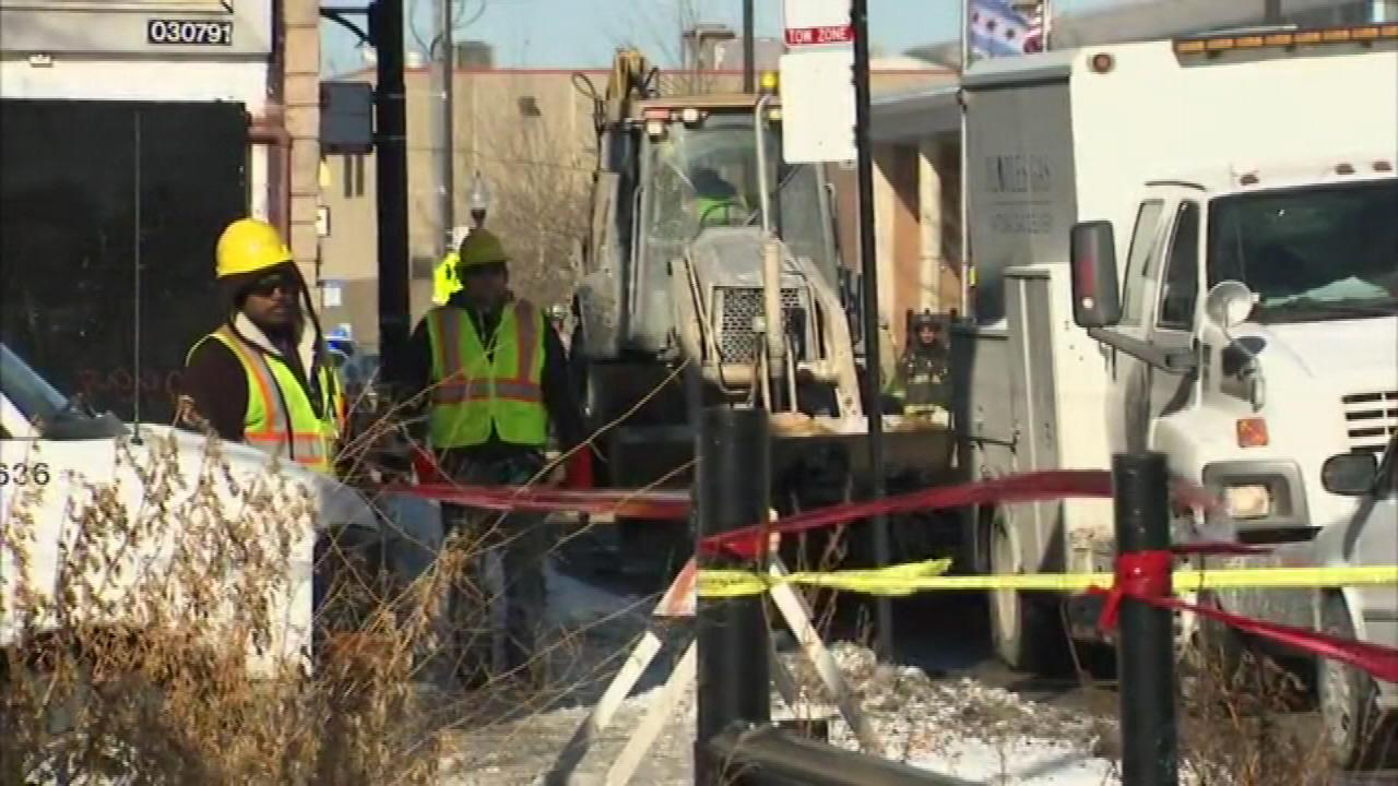 A gas main leak in Chicagos Little Village neighborhood prompted a Level 1 Hazardous Materials response on Thursday morning.