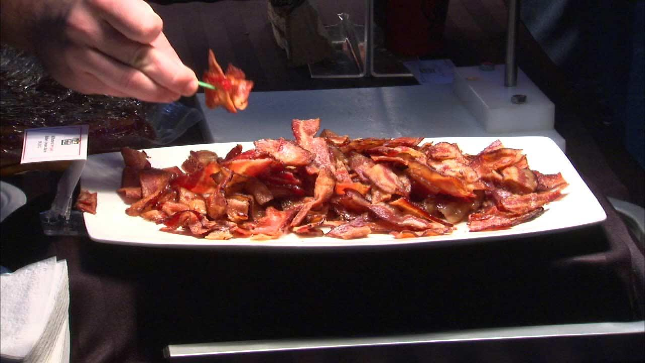 Its crispy and crunchy and its taking over the UIC Forum this weekend when the university is hosting Chicagos sixth annual Baconfest.