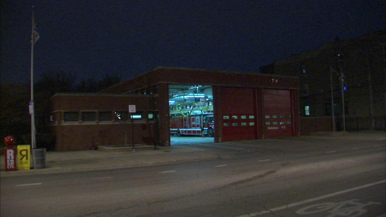 A fire station in Lincoln Park had to be evacuated after police say a woman found a grenade and brought it to the firehouse on the 600 block of West Armitage.