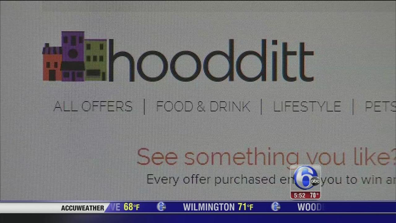 Hoodditt offer deals for $.99 each