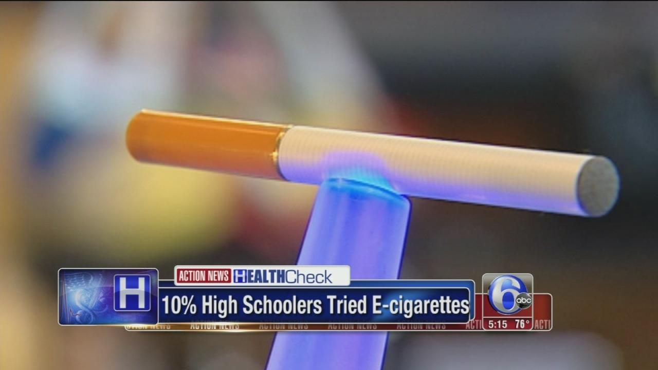 More kids trying electronic cigarettes