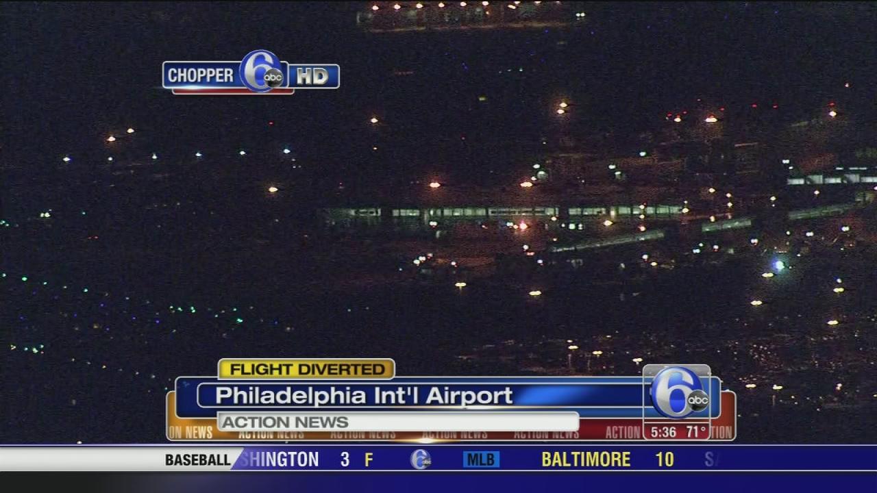 Flight diverted to PHL for drunk passenger
