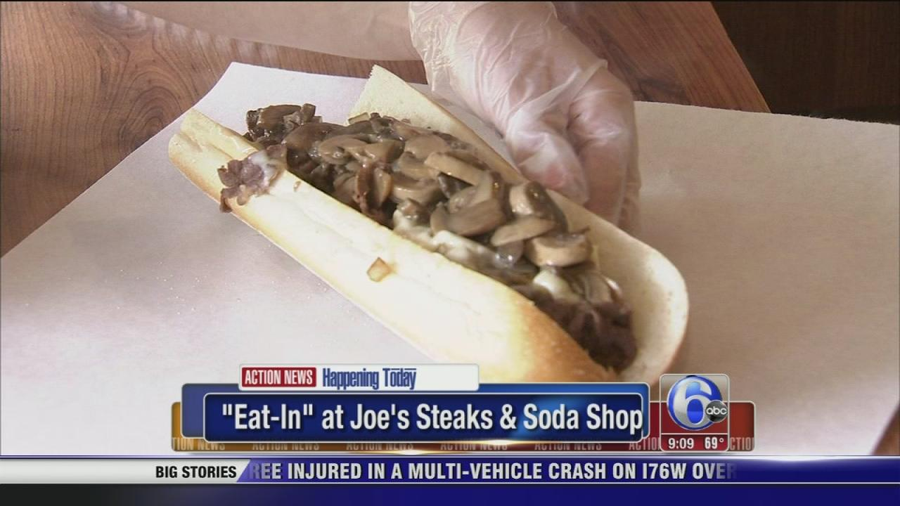 Eat-in at Joes Steaks and Soda Shop