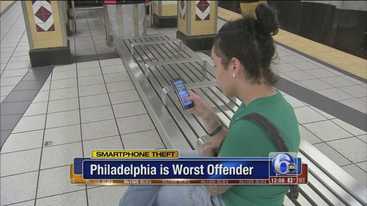 AAA: Philly is tops in smartphone thefts