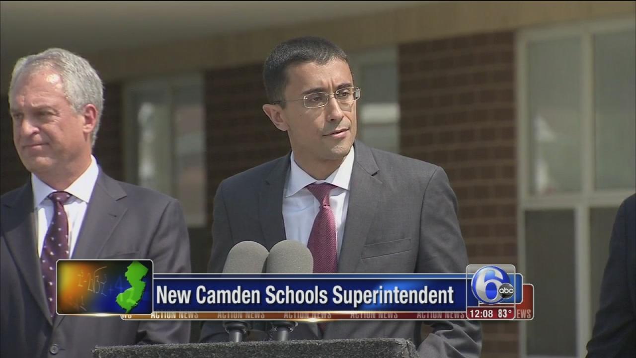 New Camden superintendent introduced
