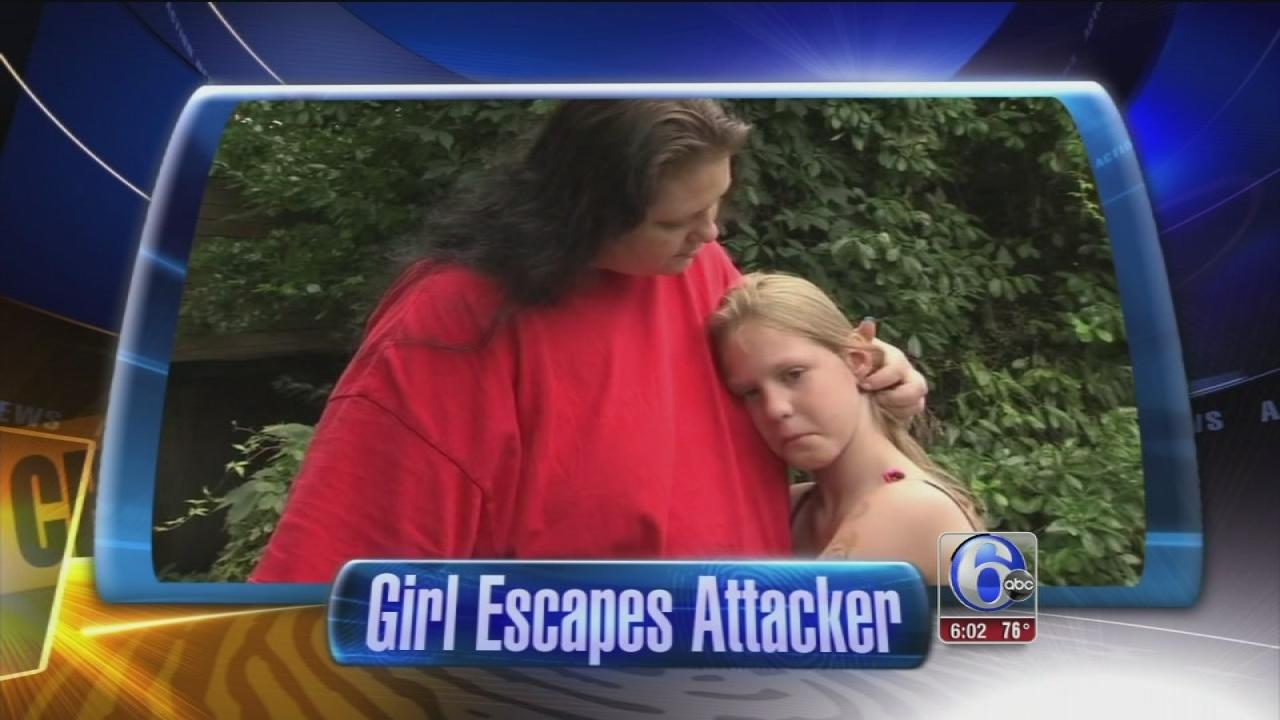 Girl bites would-be kidnapper in Morrisville, Pa.