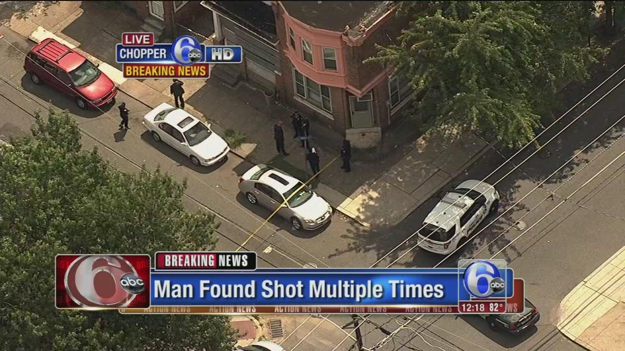 Man found shot multiple times in Camden