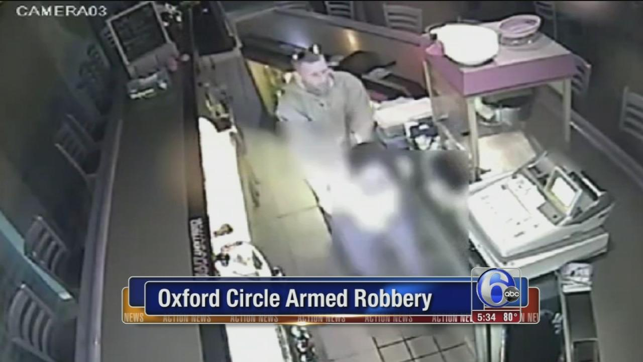 Surveillance of Oxford Circle robbery
