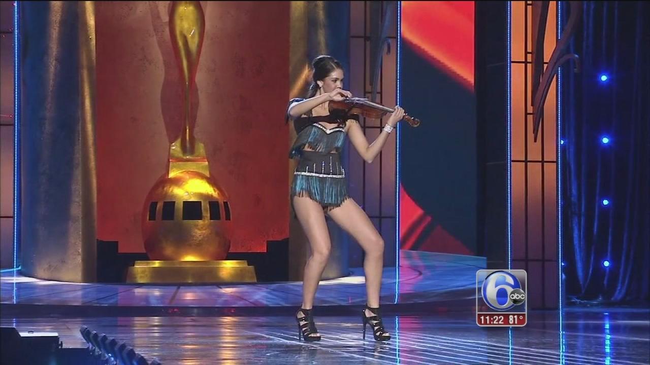 Okla., Minn. win 2nd night Miss America prelims