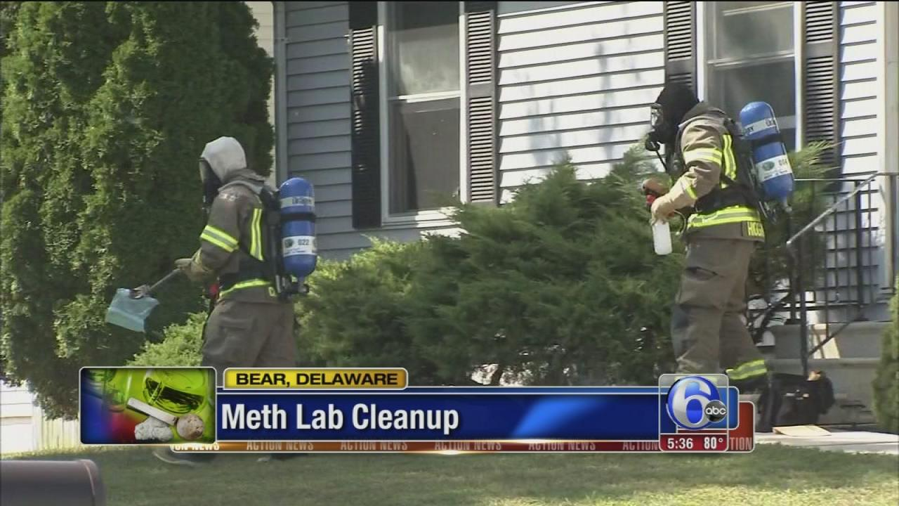 Suspected meth lab dismantled in Bear