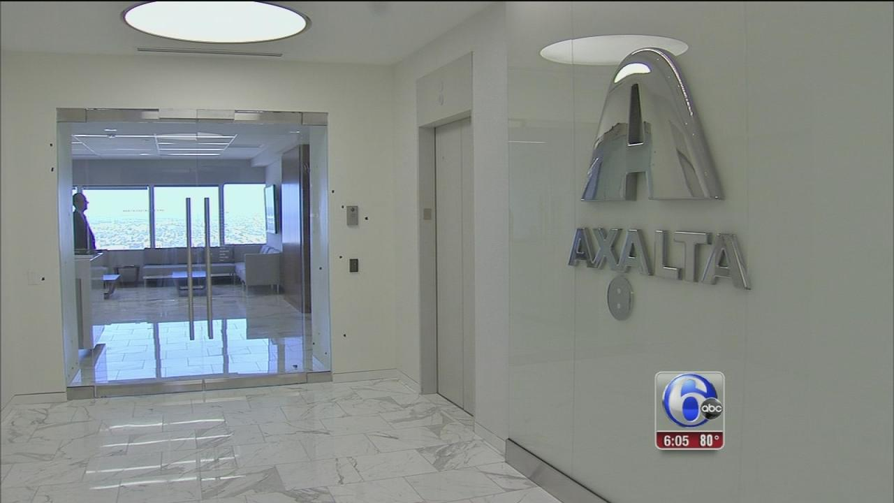 Axalta bringing jobs to Philly, Delco