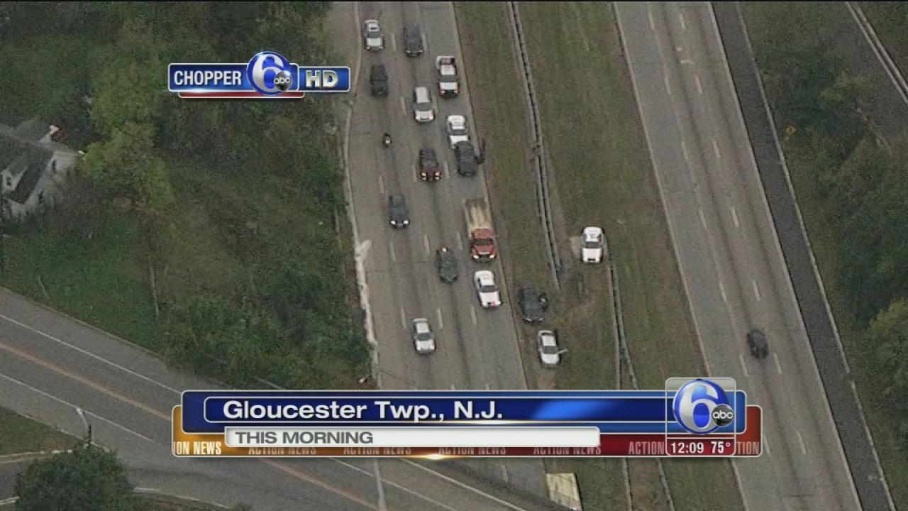 Accident involving NJ state trooper