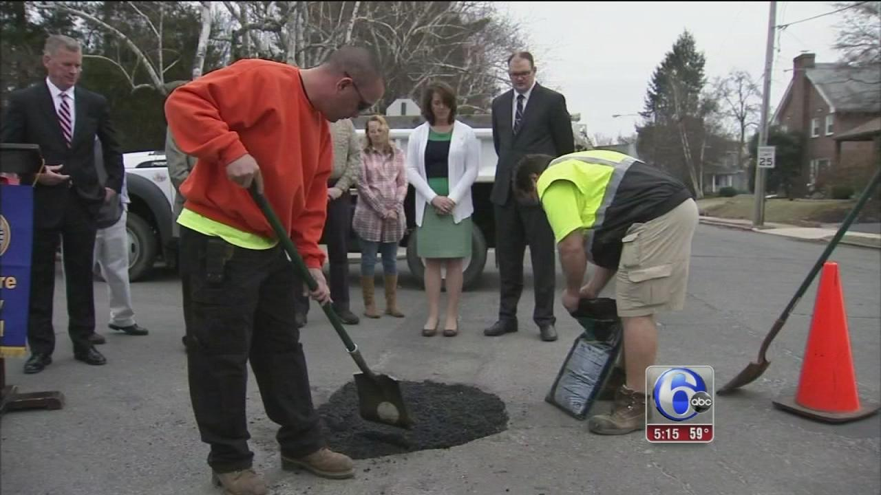 Delco officials offer pothole assistance county-wide