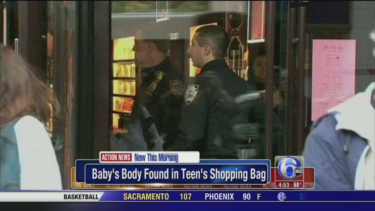 Teen found with fetus in bag at store, NYPD says