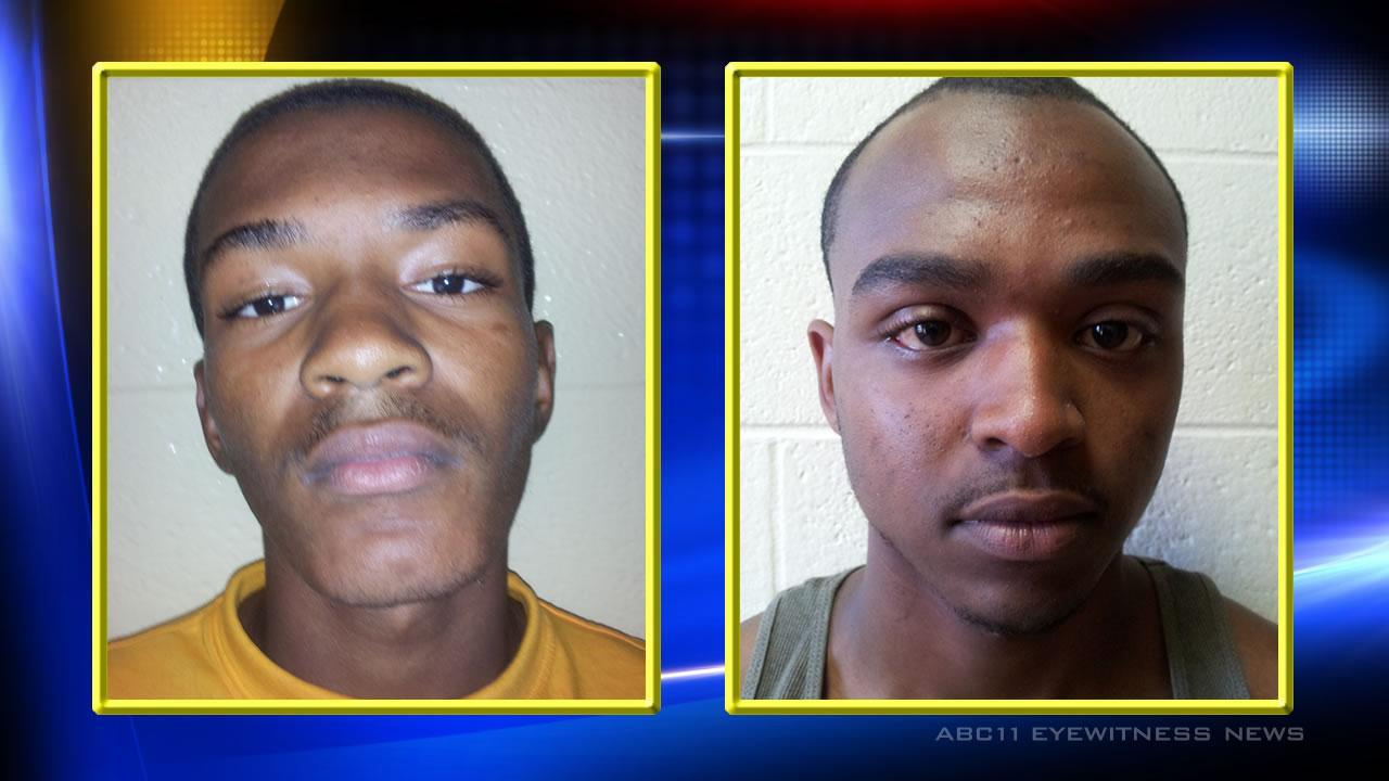 Rashad Evans, 17, of Hollister and Jarell King, 18, of Enfield.