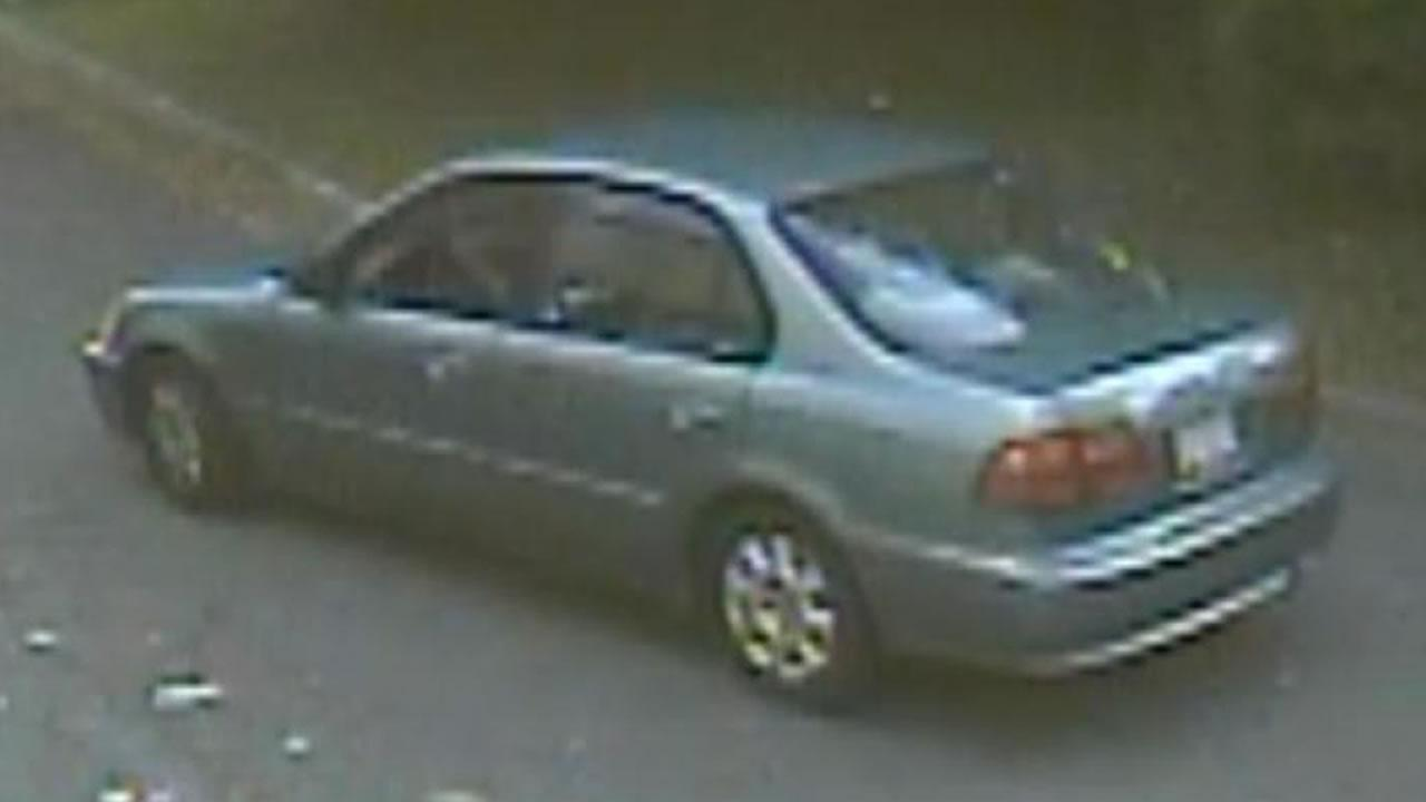 Get-away vehicle identified in bank robbery