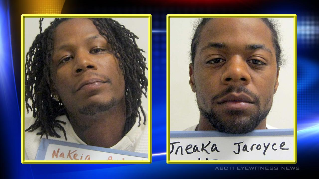 Police arrested 33-year-old Nakia Audrell Becton and 27-year-old Jneaka Jaroyce Sutton