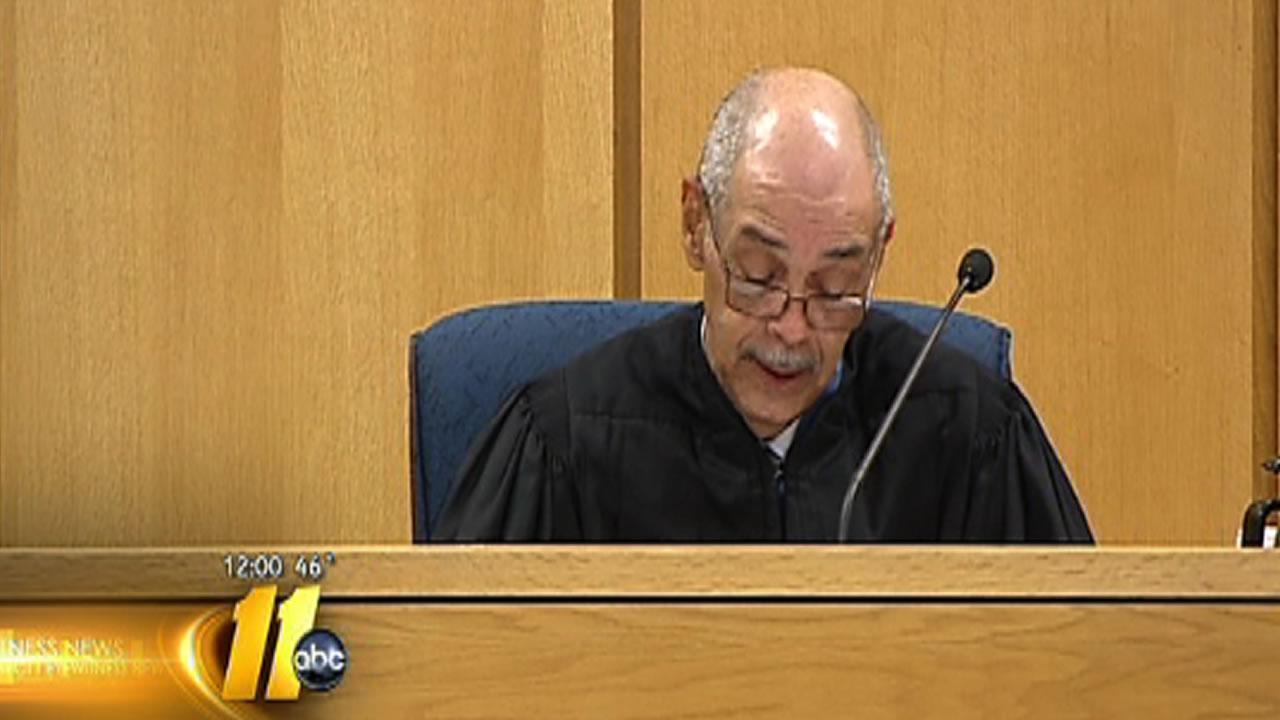 Cumberland County Superior Court Judge Greg Weeks