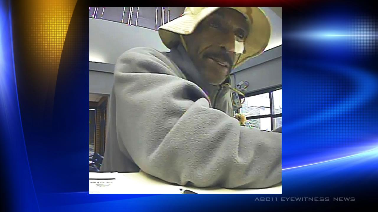 Police said this man robbed a SunTrust Bank on Erwin Road.
