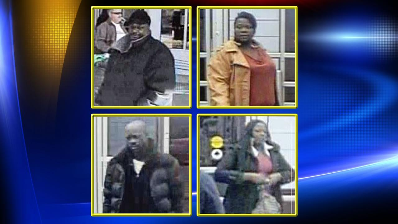 Wake Forest Police are asking for the publics help identifying the suspects shown in the surveillance camera images above.