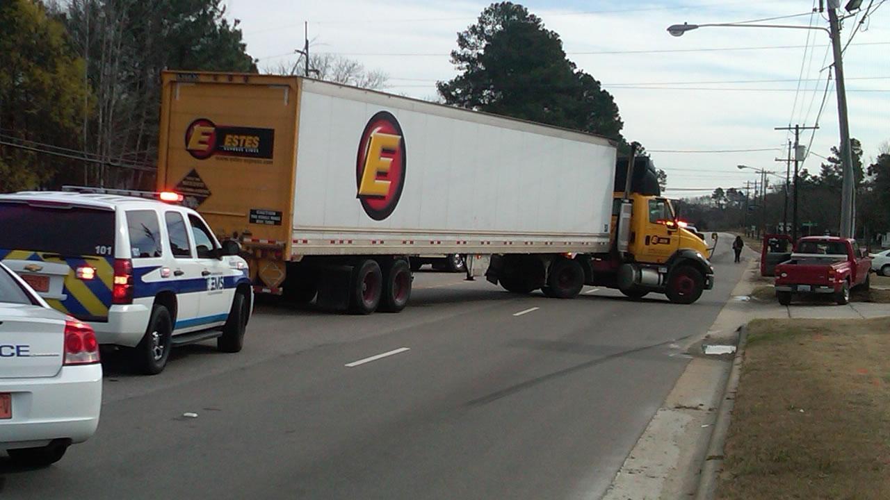 A crash on Cedar Creek Road in Fayetteville.