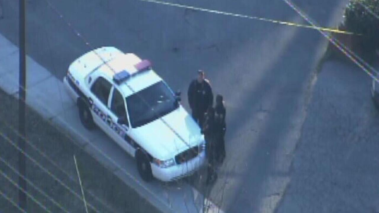 Police investigate a reported shooting in Durham.