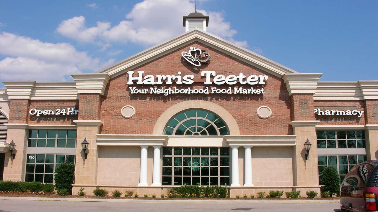 A Harris Teeter store in Apex.