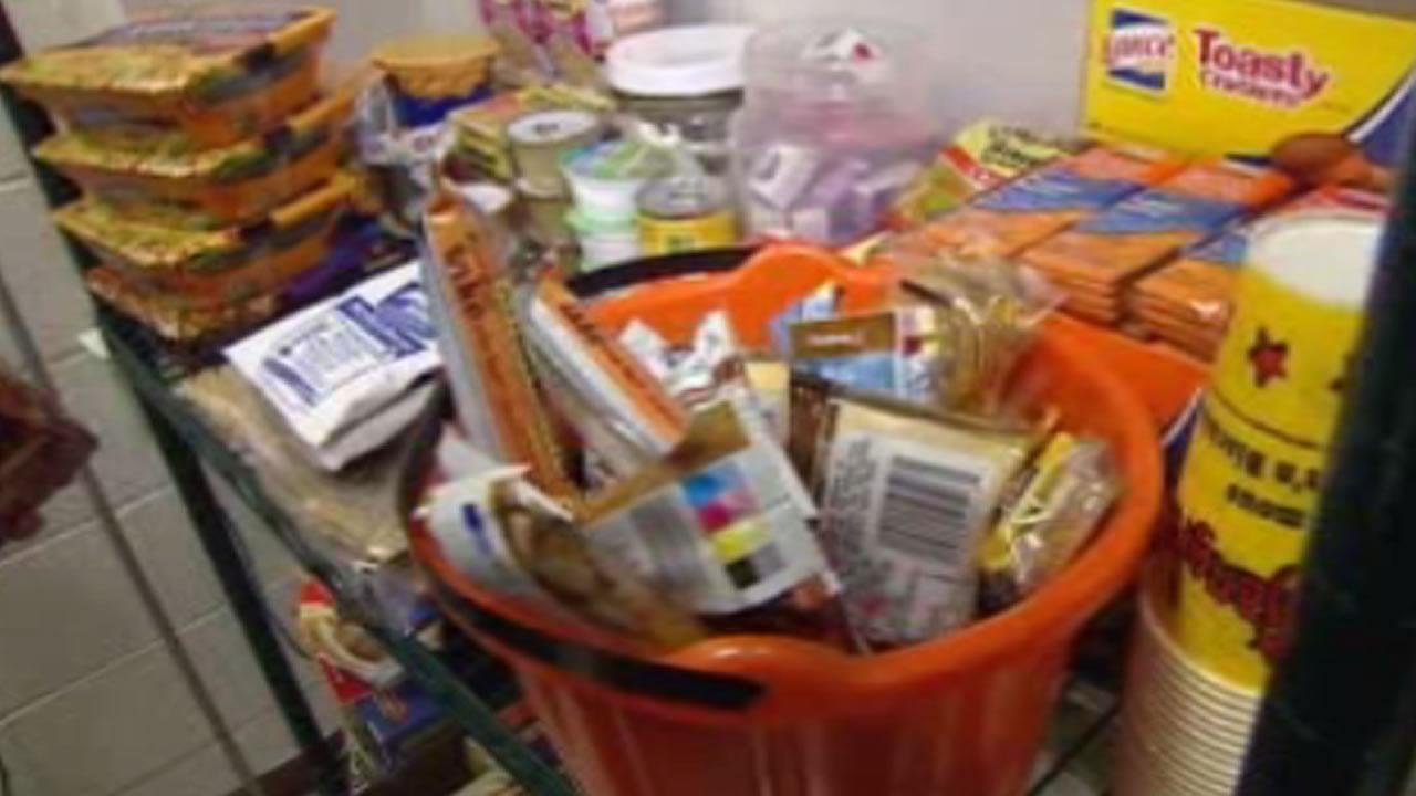 Food pantry opens at college