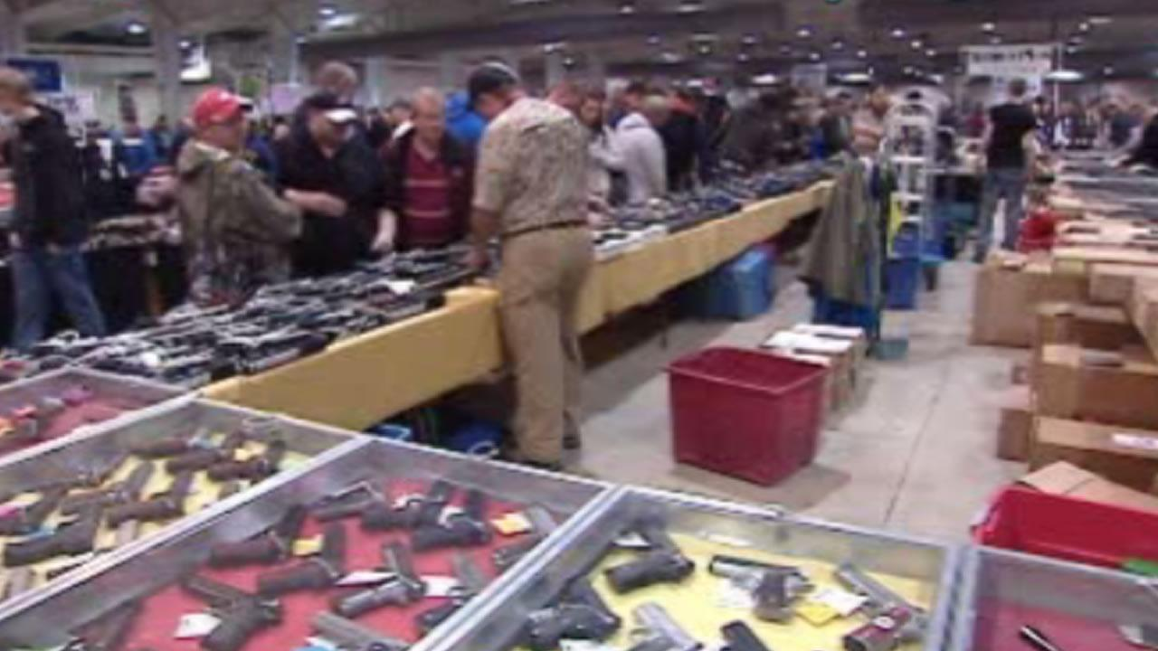 The Capital City Gun Show in Raleigh.