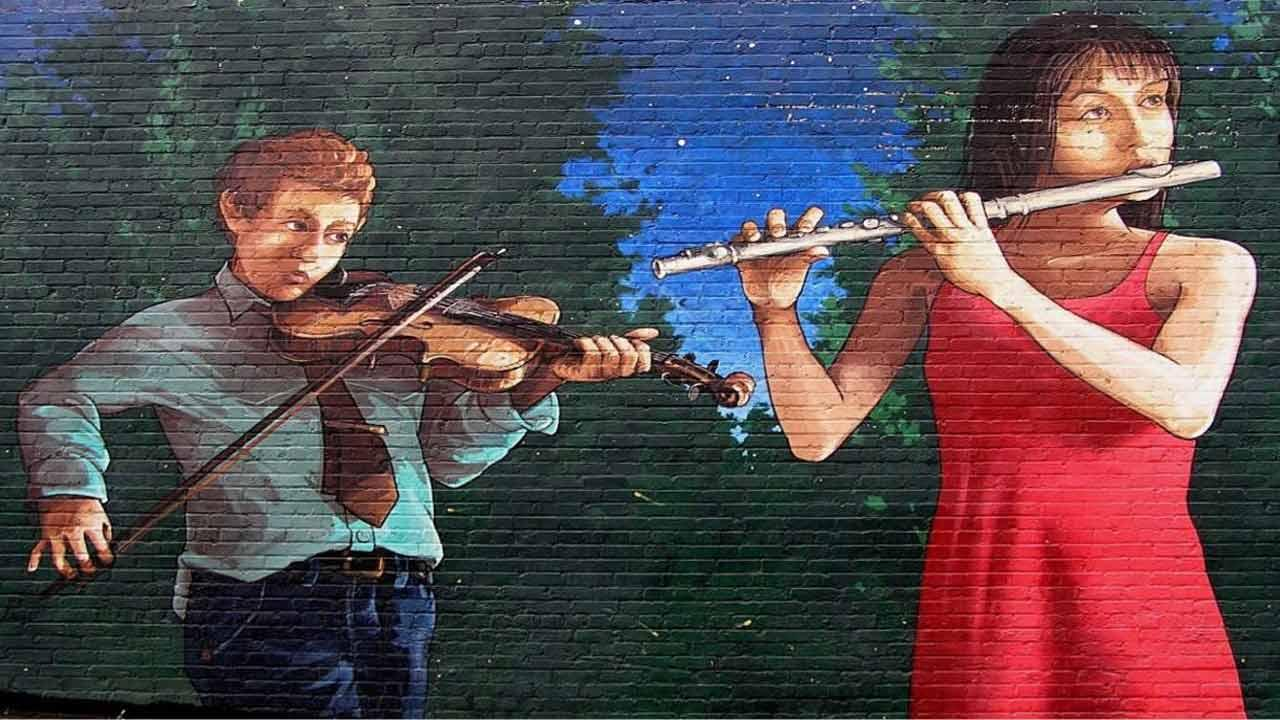 Famous Chapel Hill mural painted over
