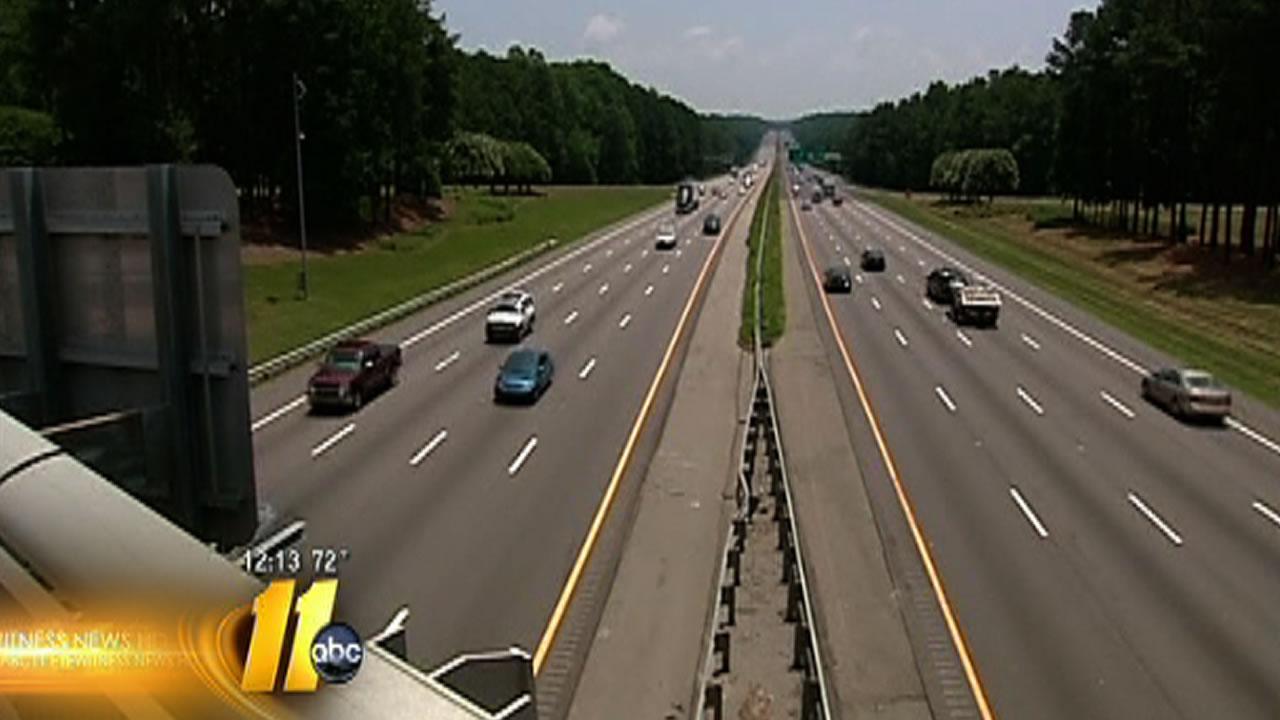 North Carolina House looks at raising maximum speed limit to 75 mph